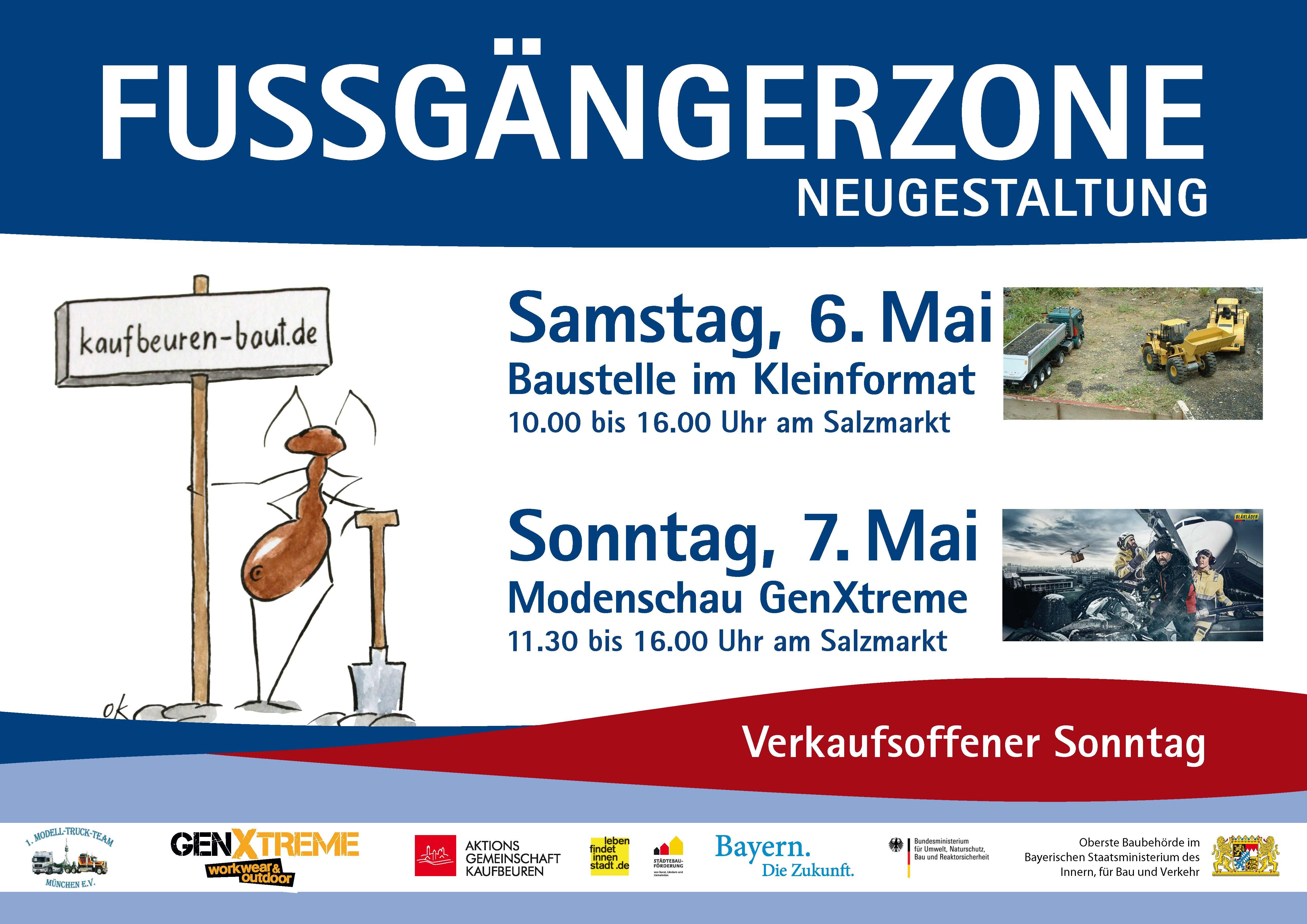 Plakat Aktionswochenende 6./7. Mai
